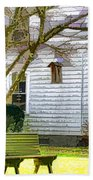Birdhouse 6 Bath Towel