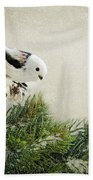 Birdie Stilllife Bath Towel