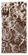 Birds From The Old World Bath Towel