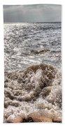 Birling Gap Waves Bath Towel