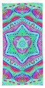 Birth Mandala- Blessing Symbols Hand Towel