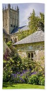 Bishops Palace Gardens - Wells England Hand Towel
