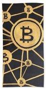 Bitcoin Bath Towel