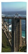 Bixby Creek Bridge 5 Bath Towel