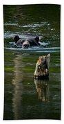 Black Bear Pictures 104 Bath Towel