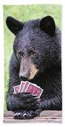 Black Bear Says I Call  Bath Towel
