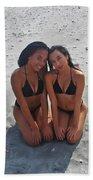 Black Bikinis 9 Bath Towel
