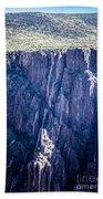 Black Canyon In Colorado Bath Towel