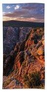 Black Canyon Sunset Glow Bath Towel