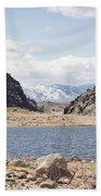 Black Canyon View - Pathfinder Reservoir - Wyoming Bath Towel