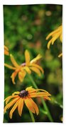 Black Eyed Susans Bath Towel