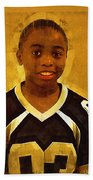 Young Black Male Teen 6 Bath Towel