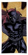 Black Panther Bath Towel