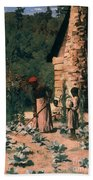 Black Sharecroppers, 1879 Hand Towel
