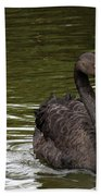 Black Swan Bath Towel