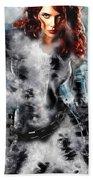 Black Widow Scarlett Johansson Bath Towel