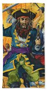 Blackbeard Bath Towel