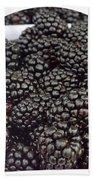 Blackberries Bath Towel
