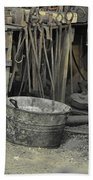 Blacksmith's Bucket Bath Towel