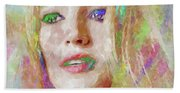 Blake Lively Watercolor Hand Towel