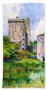 Blarney Castle Landscape Bath Towel