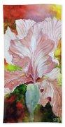 Blazing Iris Hand Towel