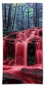 Bleeding Falls 1 Bath Towel