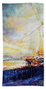 Blennerville Wind Mill Bath Towel