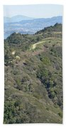 Blithedale Ridge On Mount Tamalpais Bath Towel