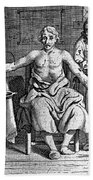 Blood Transfusion From Dog To Man, 1692 Bath Towel