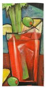 Bloody Mary Poster Bath Towel