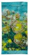 Bloom In Vintage Ornate Style Bath Towel