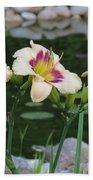 Blooming By The Pond Bath Towel