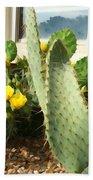 Blooming Cactus Bath Towel