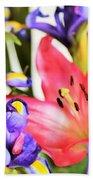 Blooming Colors Bath Towel