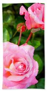 Blooming In Phases Bath Towel
