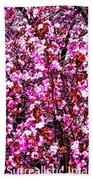 Blooming Pink Bath Towel