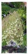 Blooming Succulent Plant. Amazing Bath Towel