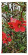 Blooms In The Alley Bath Towel