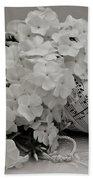 Blossom And The Bee Cornucopia  Hand Towel