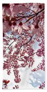 Blossom Artwork Spring Flowers Art Prints Giclee Bath Towel