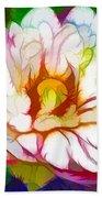 Blossom Lotus Flower Bath Towel