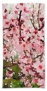 Blossom Trail Bath Towel