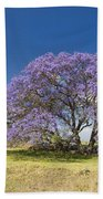Blossoming Jacaranda Bath Towel