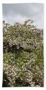 Blossoming Tree Bath Towel