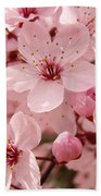 Blossoms Art Prints 63 Pink Blossoms Spring Tree Blossoms Bath Towel