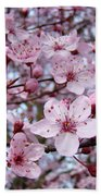 Blossoms Art Prints Nature Pink Tree Blossoms Baslee Troutman Bath Towel