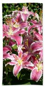 Blossoms Of Chase Lane Bath Towel
