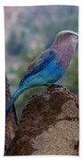 Blue Bird Bath Towel