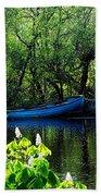 Blue Boat Cong Ireland Bath Towel